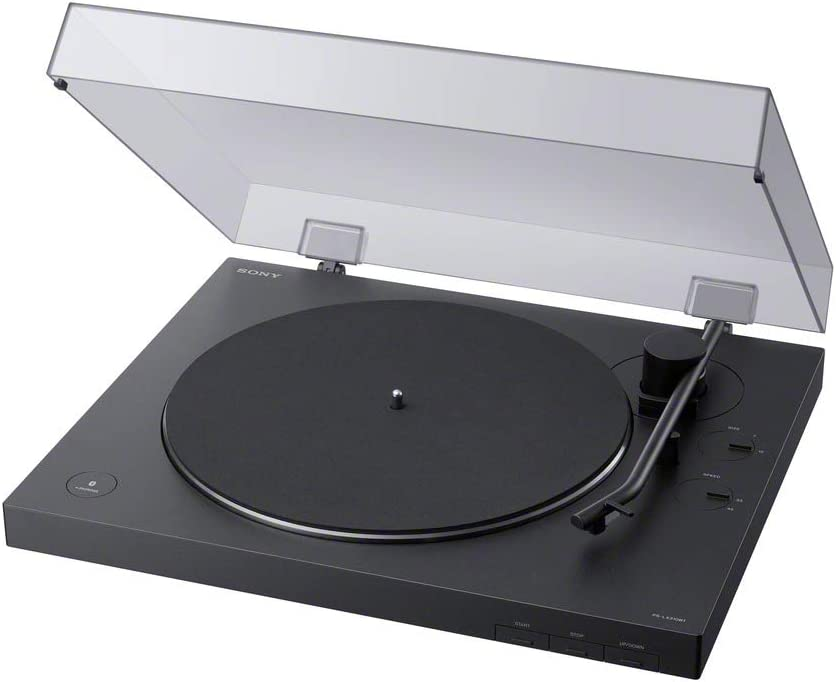 Sony PS-LX310BT Belt Drive Turntable Fully Automatic Wireless Vinyl Record Player with Bluetooth and USB Output