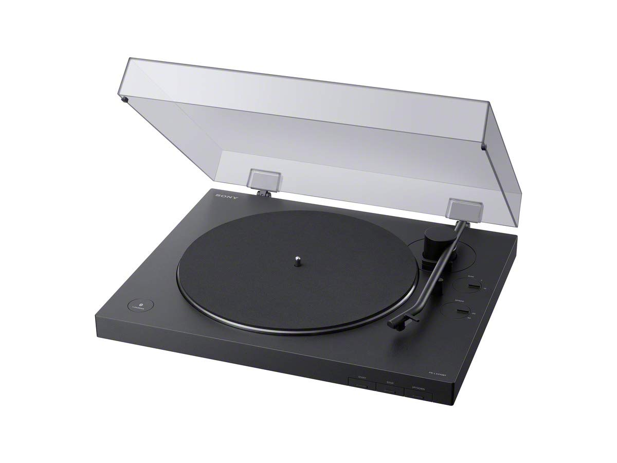 Sony PS-LX310BT Belt Drive Turntable: Fully Automatic Wireless Vinyl Record Player with Bluetooth and USB Output by Sony
