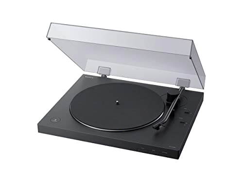 Sony PS-LX310BT Belt Drive Turntable: Wireless Vinyl Record Player