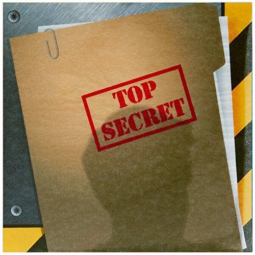 BirthdayExpress Secret Agent Spy Party Supplies - Lunch Napkins (20)