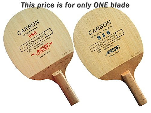 Galaxy Milky Way Yinhe 986 Wooden Fast Attack Off Japanese Penhold Table Tennis Blade (Best Japanese Penhold Blade)