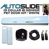 i3 Collar ID Pet Door Kit Color: White