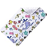 Kids Bathtub mat Children Bathroom Non Slip mat with Super Soft Surface Sturdy