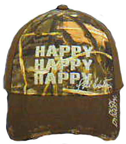 Duck Commander Duck Dynasty HAPPY HAPPY HAPPY Brown/Realtree Max-4 Camo Hat by OUTDOOR CAP