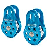 NewDoar Fixed Plate Micro Pulley,28KN CE Certified