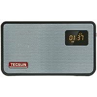 Tecsun 德生ICR-100插卡收录音机 广播半导体老人 收音机 黑色