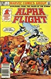 Alpha Flight #1 in 6 issue comic set in mint condition (9.8) 1983 series