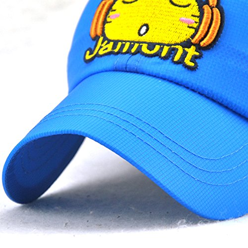 Chapeau Cap De Soleil Fille Baseball Bleu Chat Mignon Casquette Garçon Acvip Motif xwqBHAx