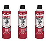 CRC 05089 BRAKLEEN Brake Parts Cleaner - Non-Flammable -19 Wt Oz, 3 Pack