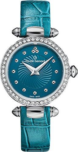 Claude Bernard Ladies-Wristwatch Dress Code Analog Quartz 20209 3P BUPIN