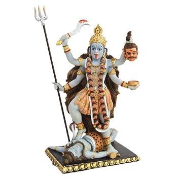 PTC 8.75 Inch Kali Mythological Indian Hindu God Statue Figurine
