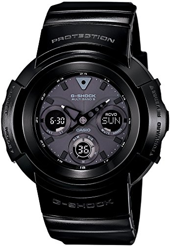 Casio G-Shock Glossy Black Solar Digital Male Watch AWG-M510BB-1 Digital Solar Bracelet