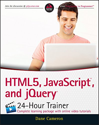 Download HTML5, JavaScript, and jQuery 24-Hour Trainer Pdf