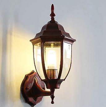MBLYW Aplique de pared,Lámpara de pared Aplique de exterior Aplique de estilo europeo Aplique de