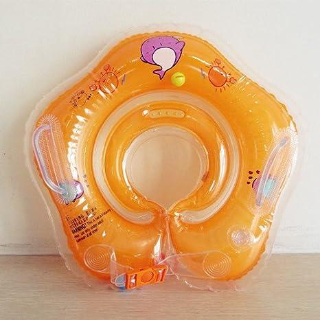 Yingtan Juguetes De Baño Yingtan Piscina Infantil Hinchable Anillo Flotador Swimtrainer Flotador Nadar Accesorios Para El Nuevo Bebé,Naranja: Amazon.es: ...