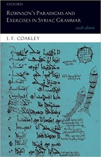 Robinsons Paradigms and Exercises in Syriac Grammar