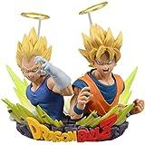 Action Figure Dragon Ball Z Super Saiyajin Goku & Super Saiyajin Vegeta Banpresto Multicores