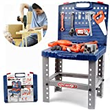 Amazon Com Toy Tool Set Workbench Kids Workshop Toolbench Toys Amp Games