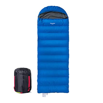 Abajo saco de dormir Campamento de invierno al aire libre Espesar Mantener caliente Saco de dormir