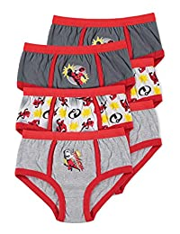 Disney Incredibles 2 Boys Underwear | Briefs 6-pack