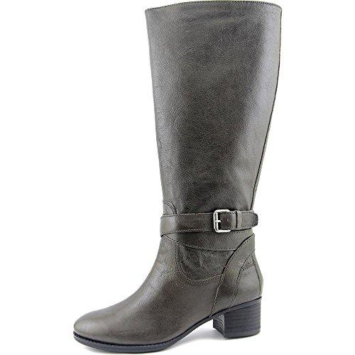 High Gray US 6 Nine Boot Calf 5 Women West Knee Wide Vani wxnSOHFqp