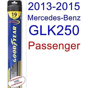 2013-2015 Mercedes-Benz GLK250 Wiper Blade (Passenger) (Goodyear Wiper Blades-Hybrid) (2014)