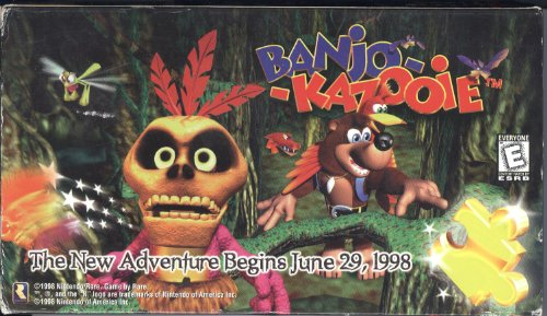 "1998 Nintendo Of America, Inc. Nintendo/Rareware Banjo-Kazooie Toys ""R"" Us The New Adventure Begins June 30, 1998 VHS Tape (Special Promotional VHS Tape)"