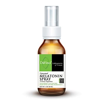 DaVinci Laboratories Liposomal Melatonin Spray, 1 Ounce