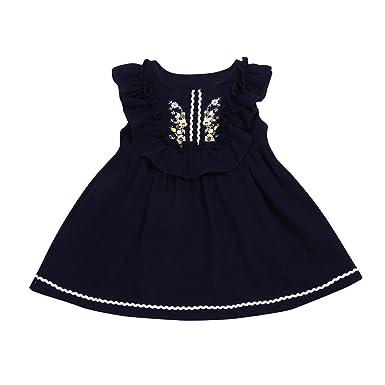 XXYsm - Falda - para niña azul oscuro 3-4 Años: Amazon.es: Ropa y ...