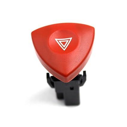 Amazon.com: Hazard Warning Switch Red Button 93856337 Fit for Opel Vivaro Peugeot Renault Laguna: Automotive