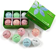 Kaede Fly Distance Golf Balls (Half Dozen) 2 Tone Colored 6 Balls