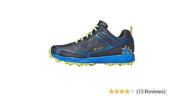 var kan jag köpa New York temperament skor Amazon.com | Icebug Men's DTS2 BUGrip Running Shoe, Black/Cobalt ...