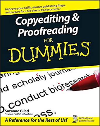 copyediting and proofreading for dummies kindle edition by copyediting and proofreading for dummies 1st edition kindle edition