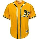 Oakland Athletics Blank Yellow Toddler Cool Base Alternate Replica Jersey
