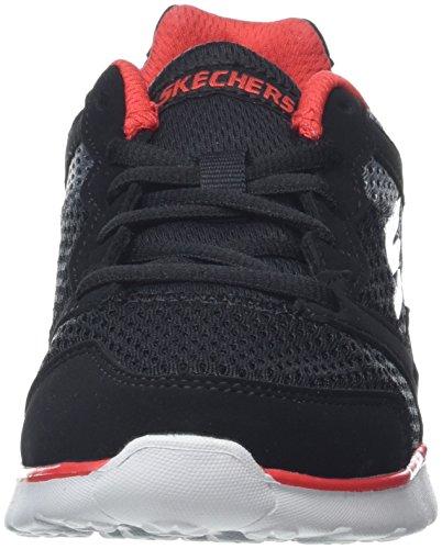Entrenadores Skechers Para red grey Niños zodox Go 400 Negro black Run wxxHIF1