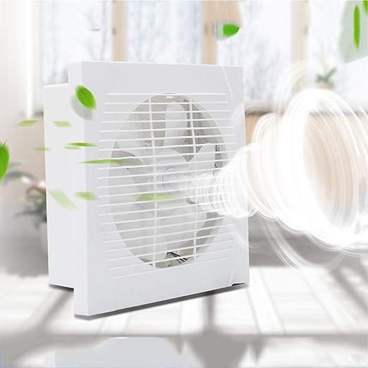 Amazon Com Exhaust Fan Kitchen Window Type 10 Inch Two Way Wall Suction Pumping Smoke Mute Ventilation Fan Bathroom Zhaoshunli 923 Home Kitchen