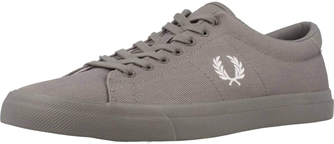 Fred Perry Men's Shoes, Colour Grey
