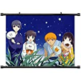 "Fruits Basket Anime Fabric Wall Scroll Poster (32"" x 23"") Inches. [WP]-Fruits Basket-147 (L)"
