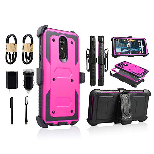LG Stylo 4 Rugged Case,   Full-Body Heavy Duty Case with   f