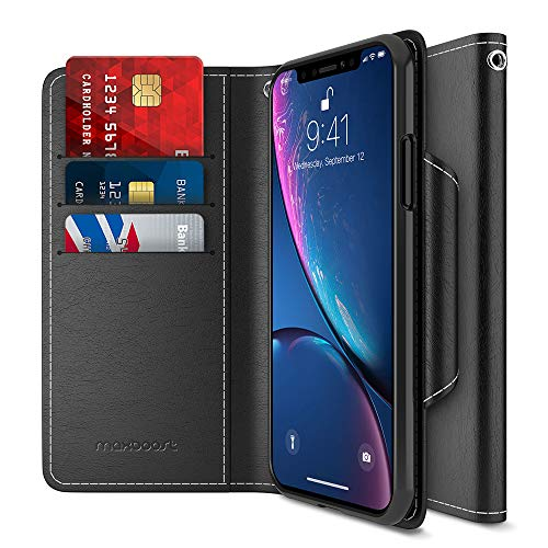(Maxboost Wallet Case Compatible Apple iPhone XR Case (2018 6.1
