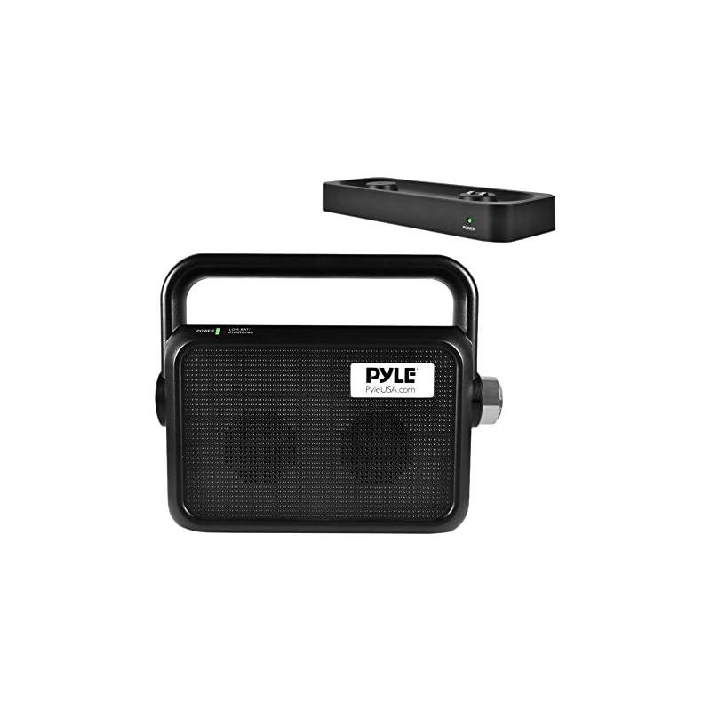 Pyle Wireless TV Speaker | Portable TV S