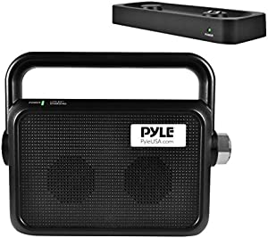 Pyle Wireless TV Speaker | Portable TV Soundbox | TV Audio Hearing Assistance