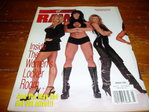 WWF/WWE Raw Magazine March 1999 Issue