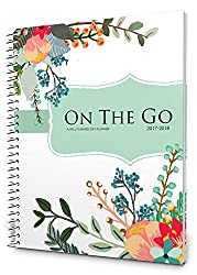 Well Planned Day, On the Go Planner, July 2017 - June 2018