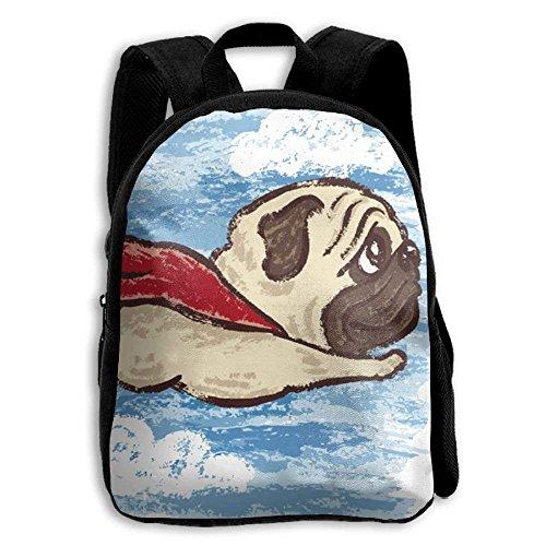 Kids Backpack Candy Pug Outdoor Shoulder Children Backpacks School Bag Daypack Gift