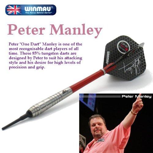 WINMAU PETER MANLEY (ピーター・マンレイ) 20g 【ソフトダーツ/バレル/矢】