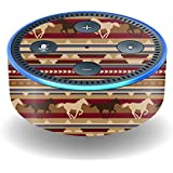 Skin For Amazon Echo Dot (2nd Generation) – Western Horses | MightySkins Protective, Durable, and Unique Vinyl Decal wrap cover | Easy To Apply, Remove, and Change Styles | Made in the USA