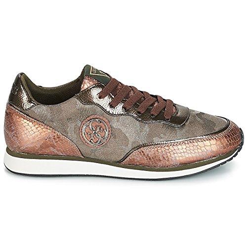 FAB12 Guess Gray FLSNN3 Sneakers Brown FwwEaqg