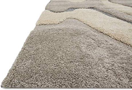 Loloi ENCOEN-06GYML Indoor Area Rugs, 9 -0 x 12 -0 , grey