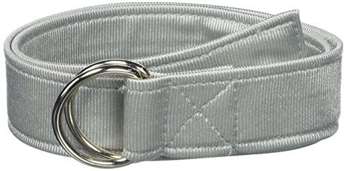 Intensity Mens Adult 1 4'' Dazzle Football Belt, Silver, 54 by Intensity (Image #1)